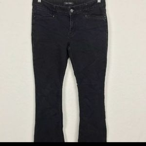 WHBM Jeans Pant Feel Beautiful Black Stretch Sz 14